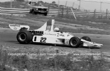 Hill GH1 . Alan Jones. Dutch GP 1975 (b&w)